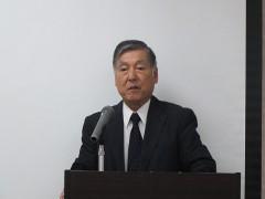 野口SC大阪理事、若手委員長開会あいさつ