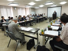 谷野SC大阪事務局長からSC大阪若手委員会の活動報告