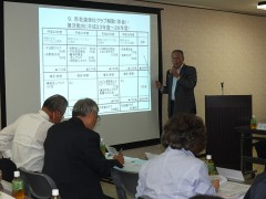 山田河内長野市老連若手委員長から活動報告
