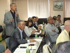阪本茨木市老連若手委員から活動報告